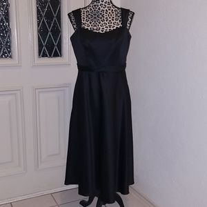 David's bridal black dress 12